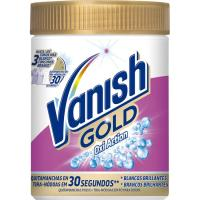 Quitamanchas polvo oxi colada blanca VANISH Gold, bote 470 g