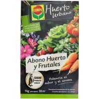 Abono para huerto y frutales COMPO, caja 1 kg