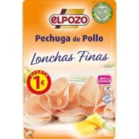 Pechuga de pollo lonchas finas ELPOZO, bandeja 85 g