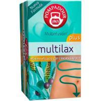 Infusión multilax plus POMPADOUR, caja 20 sobres