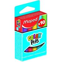 Tizas de colores surtidos Color Peps  MAPED, caja 10uds
