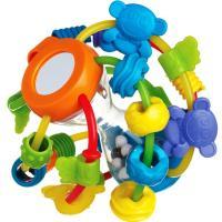 Juega y aprende bola, ofrece estimulación auditiva al agitar la bola y fomenta el desarrollo táctil PLAYGRO