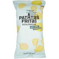 Patatas fritas sin sal girasol VERITAS, bolsa 125 g