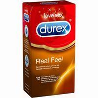 Preservativo Real Feel DUREX, caja 12 uds.