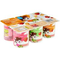 Petit fruit mix EROSKI, pack 6x55 g