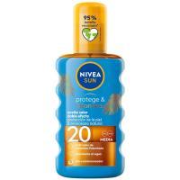 Aceite solar SPF20 NIVEA Protege&Broncea, spray 200 ml