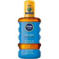 Aceite solar FP30 NIVEA Protege&Broncea, spray 200 ml
