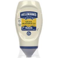 Mayonesa HELLMANN'S, bocabajo 250 ml