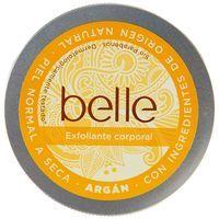 Exfoliante corporal de Argán piel seca belle, tarro 200 ml