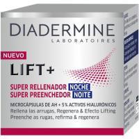 Crema Lift+Super Rellenador de noche DIADERMINE, tarro 50 ml