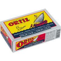 Huevas de merluza ORTIZ, lata 110 g