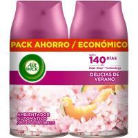 Ambientador d. de verano AIRWICK F. M., recambio, pack 2x250 ml