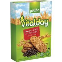 Galleta de avena-chips de chocolate GULLÓN Vitalday , caja 240 g