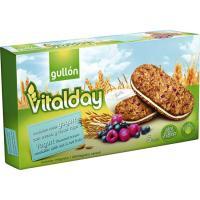 Galleta sandwich sabor yogurt GULLÓN Vitalday, caja 220 g