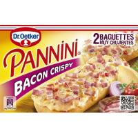 Pannini crispy bacón DR OETKER, caja 250 g