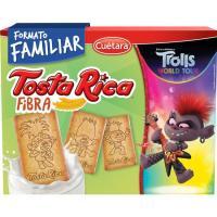 Galleta Tosta Rica Fibra CUÉTARA, caja 860 g