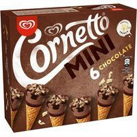 Cornetto mini de chocolate FRIGO, pack 6x36 ml
