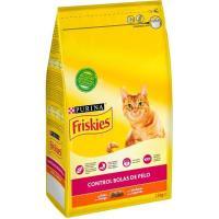 Control de bolas pelo para gato FRISKIES, saco 1,5 kg