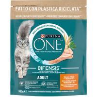 Alimento de pollo para gato adulto PURINA One, paquete 800 g
