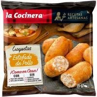 Croquetas de estofado de pollo LA COCINERA, bolsa 500 g