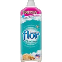 Suavizante concentrado oceánico FLOR, botella 72 dosis