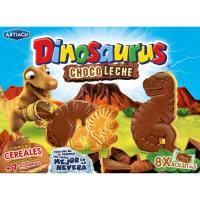Galleta Dinosaurus de chocolate con leche ARTIACH, caja 340 g