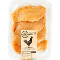 Filete de pechuga corte extrafino E. Natur, bandeja aprox. 400 g