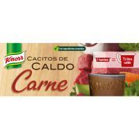 Cacitos de carne KNORR, pack 4x28 g