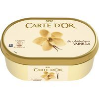 Helado original de vainilla CARTE D'OR, tarrina 500 g