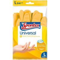 Guante universal talla mediana SPONTEX, paquete 1 par