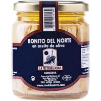 Bonito en aceite de oliva LA MUTRIKUARRA, frasco 225 g