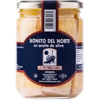 Bonito en aceite de oliva LA MUTRIKUARRA, frasco 400 g