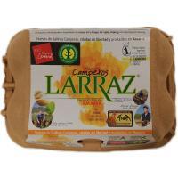 Huevo Reyno Gourmet LARRAZ, cartón 6 unid.