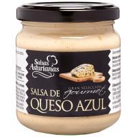 Salsa de queso azul SALSAS ASTURIANAS, frasco 190 g