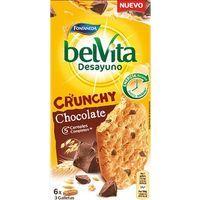 Galleta Belvita Crunchy choco FONTANEDA, caja 300 g