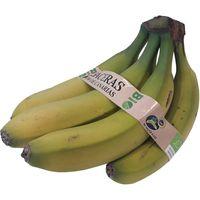 Plátano de Canarias ecológico GABACERAS, al peso, compra mínima 1 kg