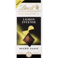 Chocolate de limón LINDT Excellence, tableta 100 g