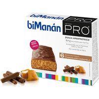 Barritas de chocolate-caramelo BIMANAN Pro, caja 6 unid.