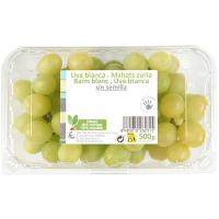 Uva blanca sin semilla, cubeta 500 g