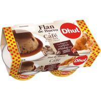 Flan de café DHUL, pack 4x110 g