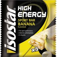 Barra High Energy babana ISOSTAR, sobre 120 g