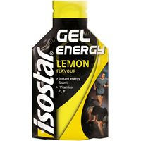 Energy gel limón single pack ISOSTAR, bolsa 35 g