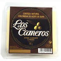 Queso de oveja curado LOS CAMEROS, cuña 180 g