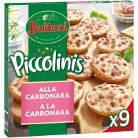 Piccolinis sabor carbonara BUITONI, caja 270 g