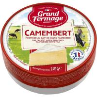 Camembert GRAND FERMAGE, cuña 240 g