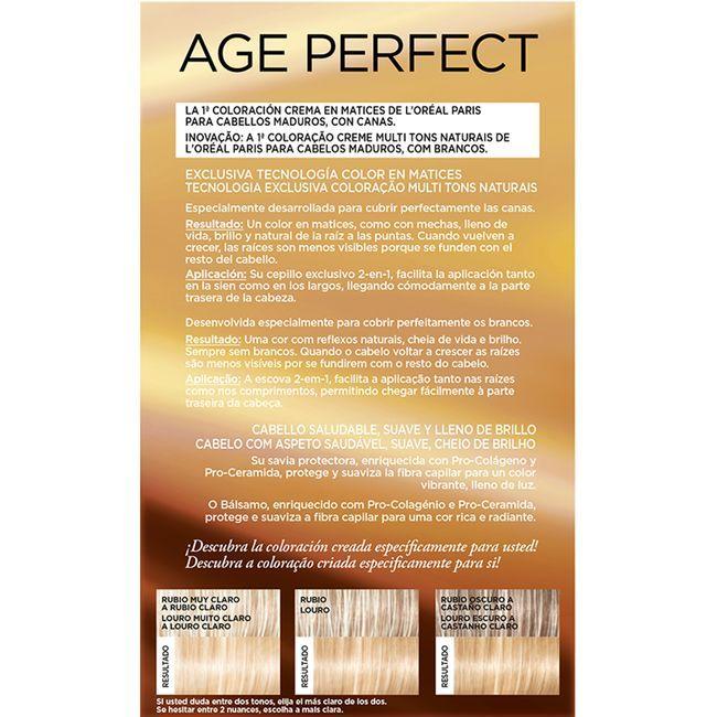Tinte rubio camel N.9.13 EXCEL. Age P., caja 1 ud