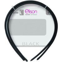 Banda elástica clásica black ELISON, pack 1 unid.