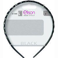 Diadema clásica negra ELISON, pack 1 ud.