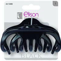 Pinza grande fantasy black ELISON, pack 1 unid.
