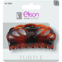 Pinza grande Classic Turtle ELISON, pack 1 unid.